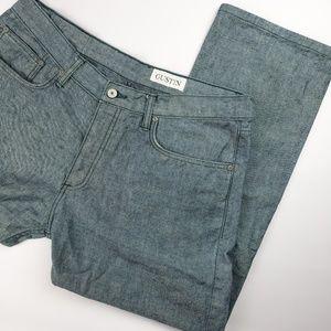 Gustin Straight Raw Selvedge Japan Sea Jeans Pant